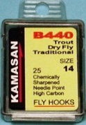 Kamasan B440 Up Eye Dry Fly