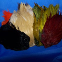 Dyed Grade #1 Indian Cock Cape