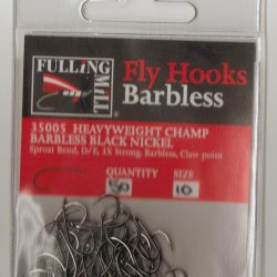 Fulling Mill Barbless H/W Champ 35000