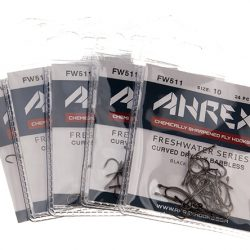 AHREX FW511-Curved Dry Fly Barbless