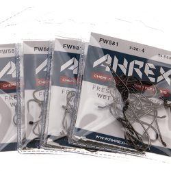 AHREX FW581-Wet Fly Barbless up
