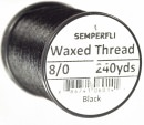Waxed Thread by Semperfli 8/0