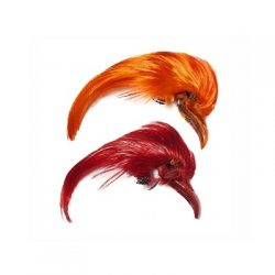 Golden Pheasant  Dyed Crest/Topping by Veniards